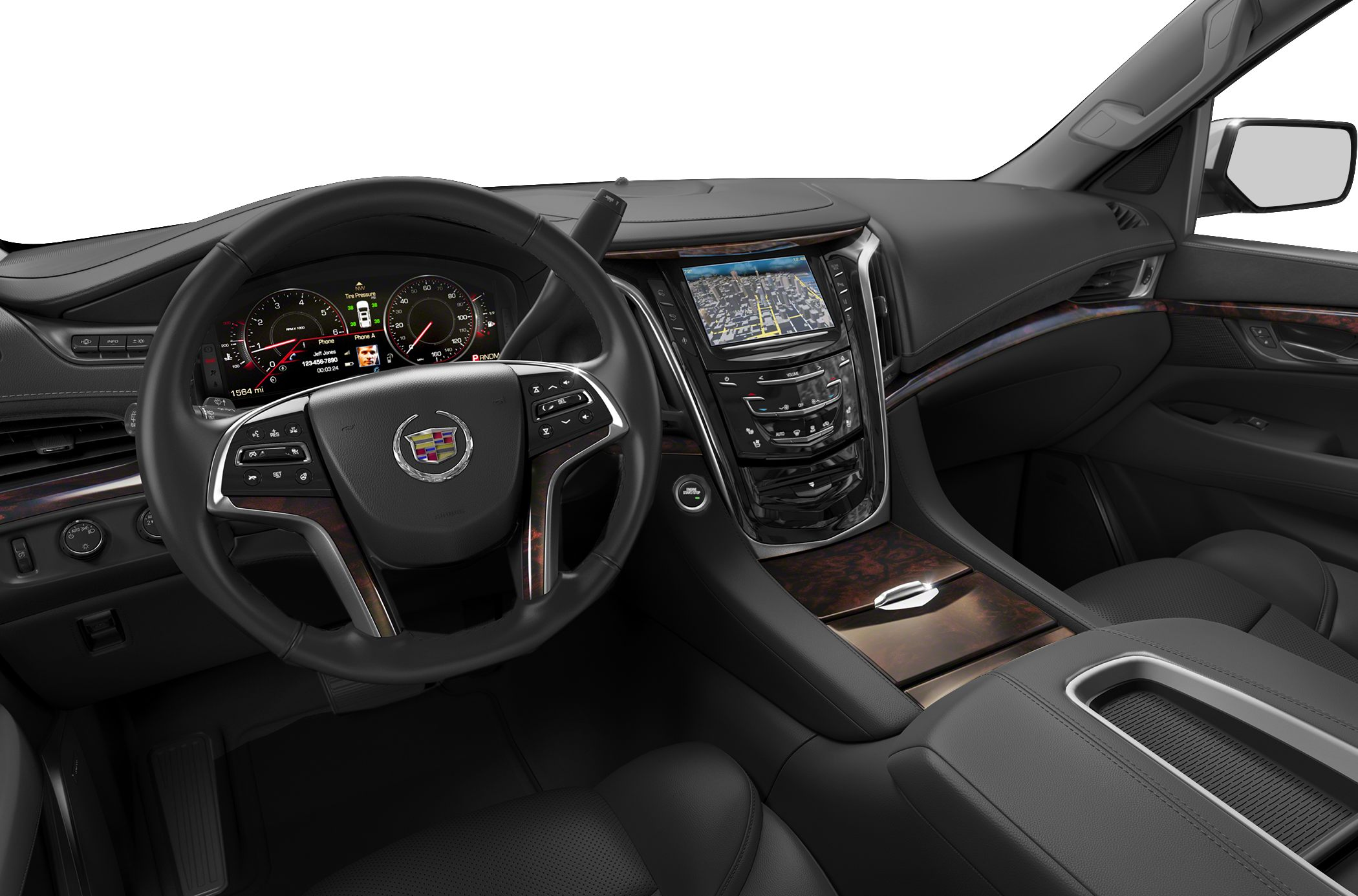 2015 Cadillac Escalade Black Interior Images Galleries With A Bite